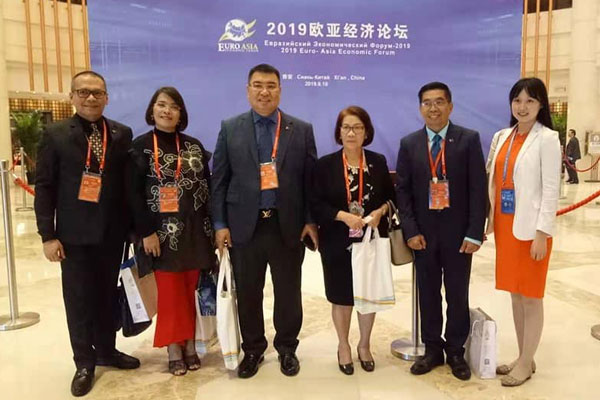 Delegates from the City Government of Muntinlupa represented the Philippines in the Euro-Asia Economic Forum and the 2nd Traditional Chinese Medicine International Exchange and Cooperation Forum held at Xian, China last September 13. / Muntinlupa PIO