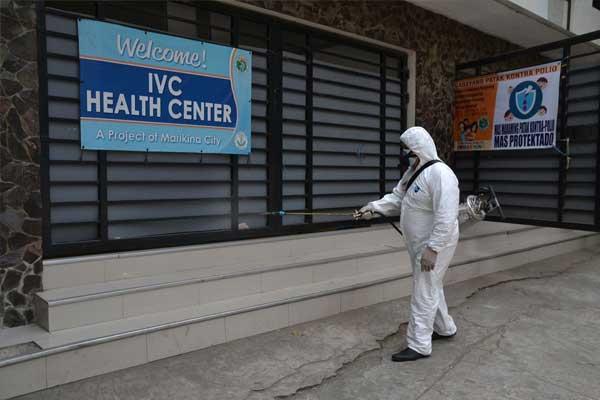 Massive disinfection in Marikina City / Marikina PIO
