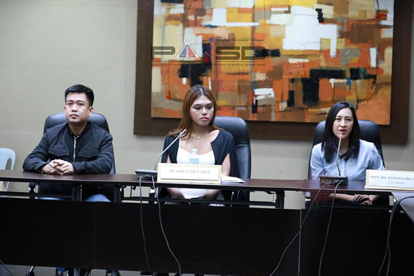 City Pride Council meets Quezon City Mayor Joy Belmonte / PIA