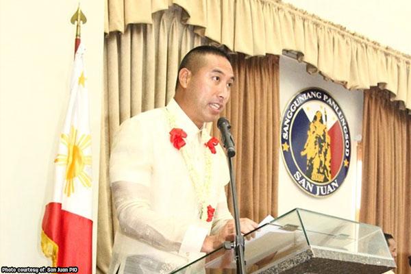 San Juan Mayor Francis Zamora