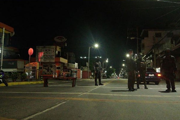 Sampaloc area during lockdown / Manila PIO