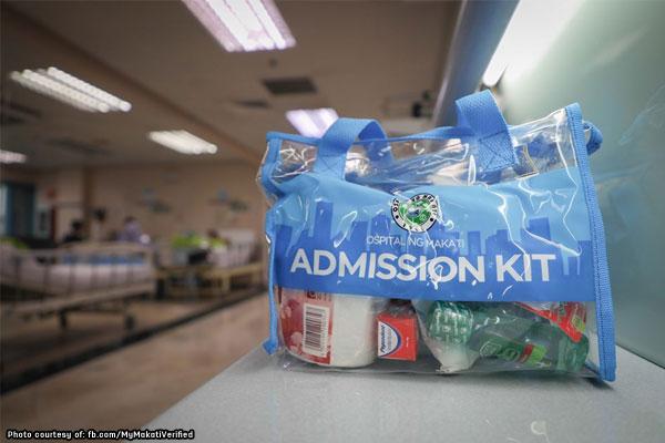 Makati yellow card holders get free hospital admission kits