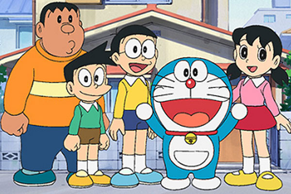 Cast of Doraemon 2005 / Wikipedia