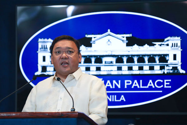 Presidential spokesman Harry Roque / PCOO