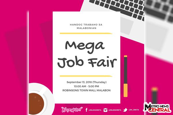 ADVISORY: Job Fair in Marikina