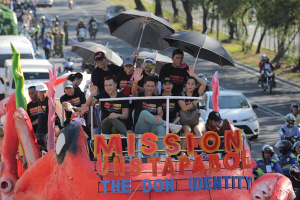 Mission Unstapabol Float in MMFF 2019 Parade of Stars / Taguig PIO