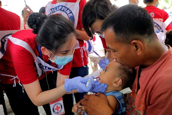 Taguig Polio Vaccination