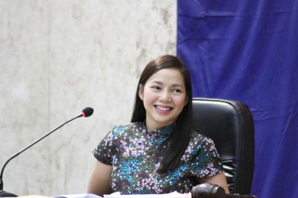 Quezon City 2nd District Rep. Precious Castelo