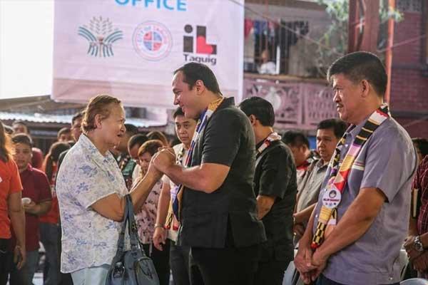 Taguig City Mayor Lino Cayetano / Taguig PIO