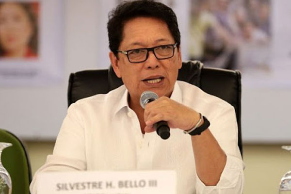 Labor Secretary Silvestre Bello III