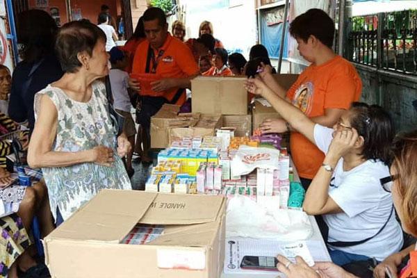 Caloocan medical mission in Barangay 37 / Caloocan PIO