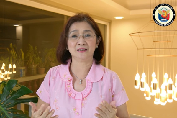 Pasay City Mayor Emi Calixto%u2013Rubiano