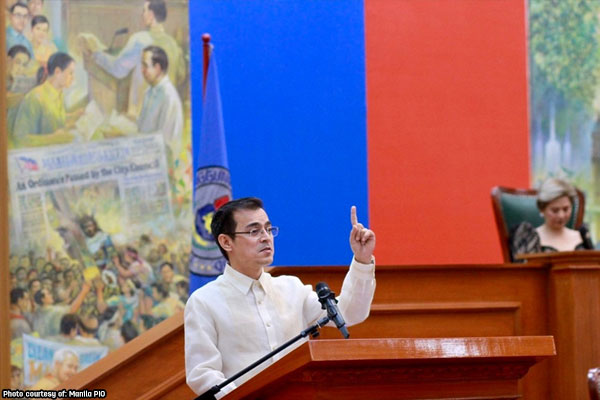Manila Mayor Isko Moreno