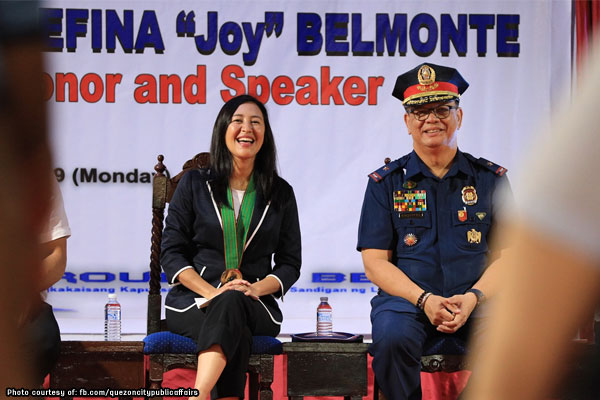 Belmonte urges QC students to become protectors of environment