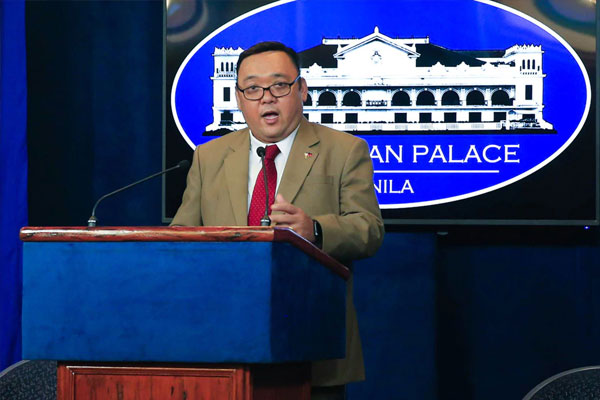 Presidential Spokesperson Harry Roque / ABS-CBN News