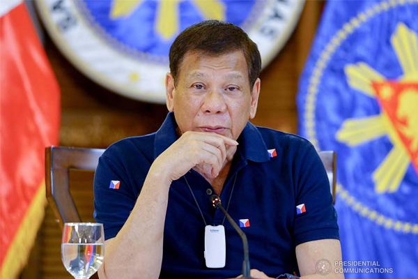 President Rodrigo Duterte