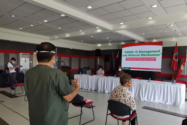 Valenzuela City hosts the COVID-19 Management Referral Mechanism for CAMANAVA LGUs / Valenzuela PIO