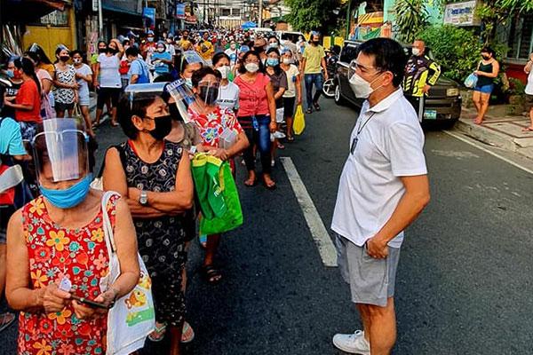 Photo Courtesy of QC Councilor Franz Pumaren Facebook page