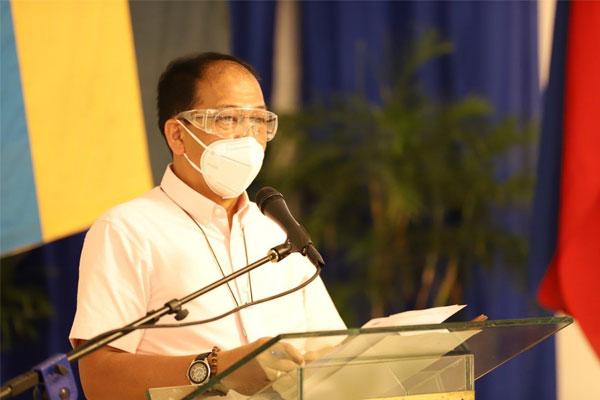 National Task Force against Covid-19 chief implementer, Secretary Carlito Galvez Jr.