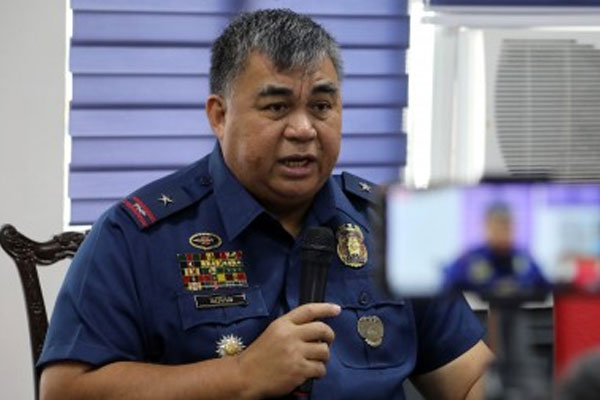 NCRPO chief Police Major General Debold Sinas