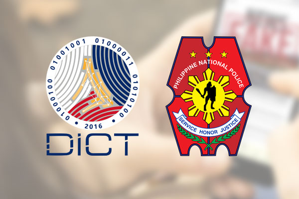 Philippine National Police (PNP) and Department of Information and Communications Technology (DICT)