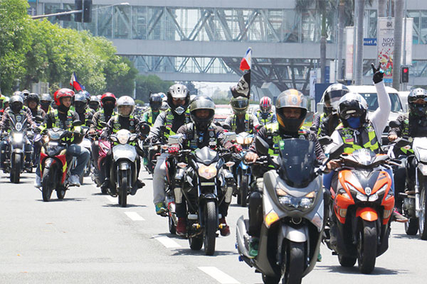 ordinance for motorcycles to have pnp stickers withdrawn by Malabon