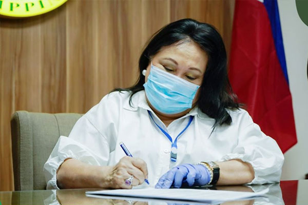 Las Pinas City Mayor Mel Imelda Aguilar