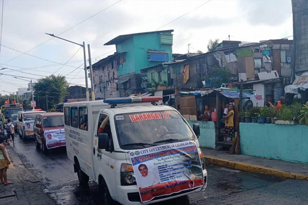 Caloocan City barangay clean up drive / Caloocan PIO