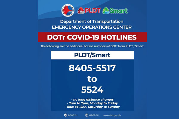 Photo courtesy of: DOTr