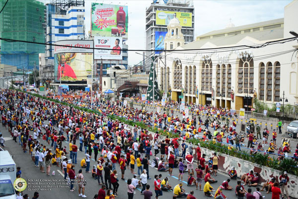 Photo courtesy of: Quiapo Church