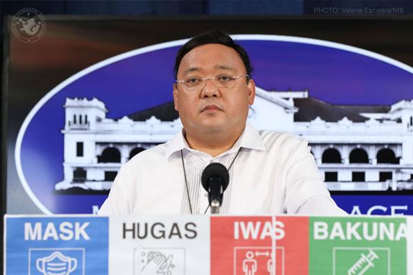 Presidential Spokesperson Harry Roque