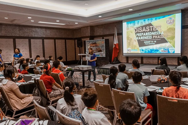 Muntinlupa conducts Disaster Preparedness and Awareness Seminar for elementary students / Muntinlupa PIO