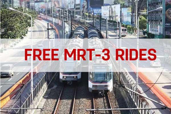 MRT-3 free rides