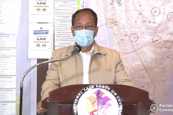 National Policy Against Covid-19 chief implementer and vaccine czar, Secretary Carlito Galvez Jr.