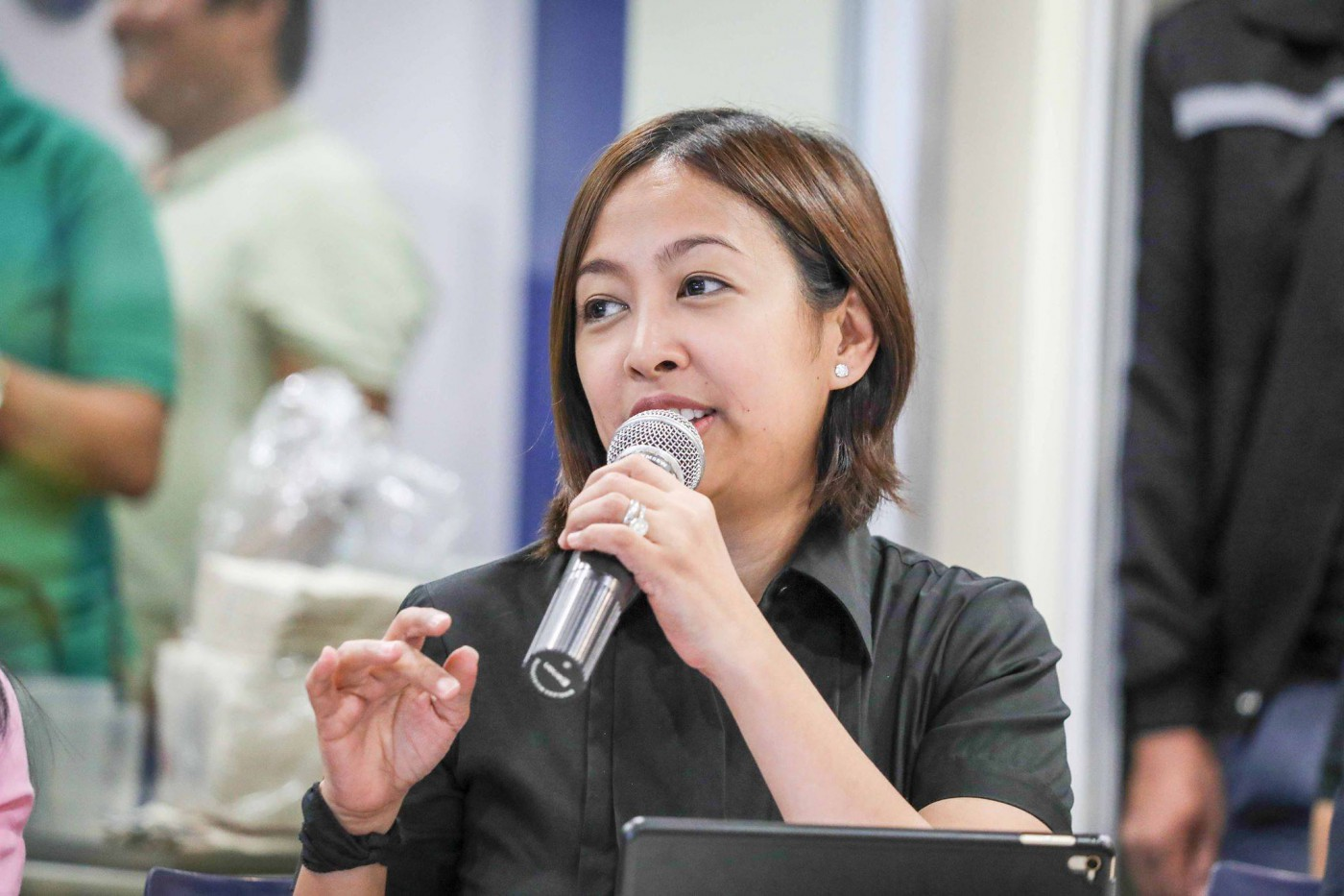 Makati City Mayor Abigail %u201CAbby%u201D Binay