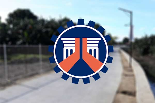 DPWH completed river project in Las Pi%uFFFDas