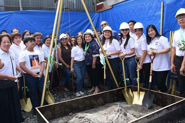 Groundbreaking ceremony of Christ the King Medical Center / Las Pinas PIO