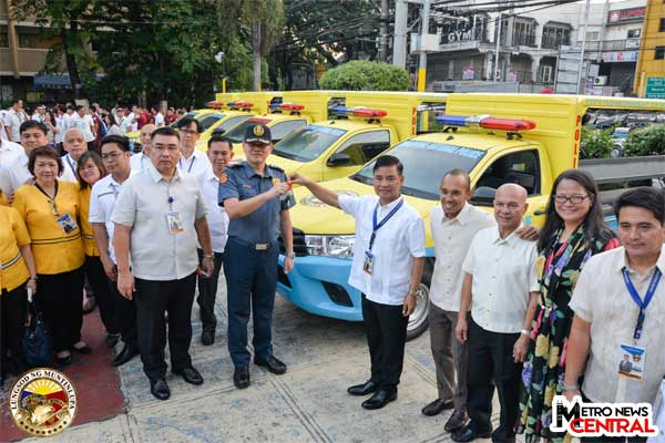 Police patrol fleet in Muntinlupa beefed up