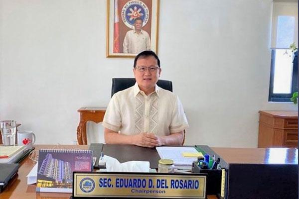 DHSUD Secretary Eduardo del Rosario