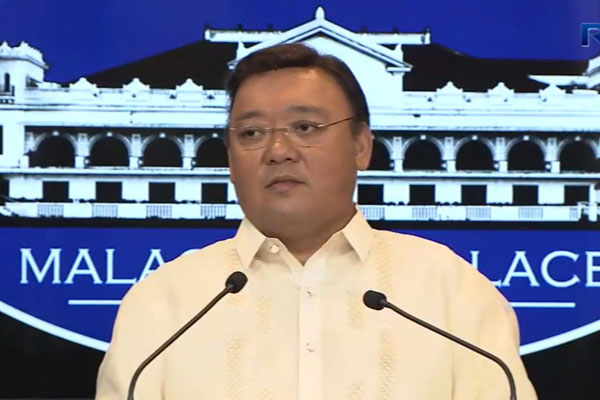 Presidential Spokesperson Harry Roque