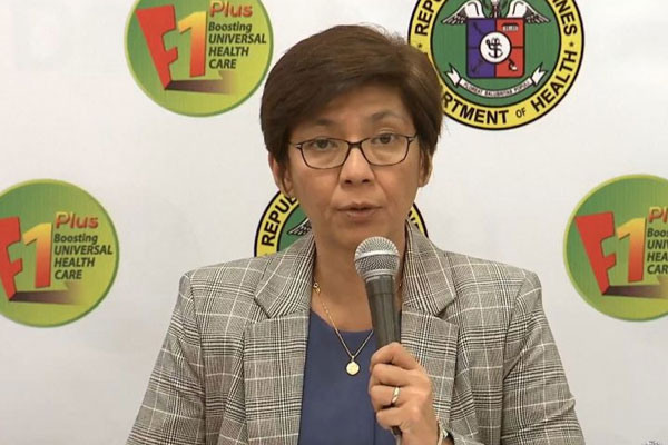 Health Assistant Secretary Maria Rosario Vergeire / Photo Courtesy DOH Facebook