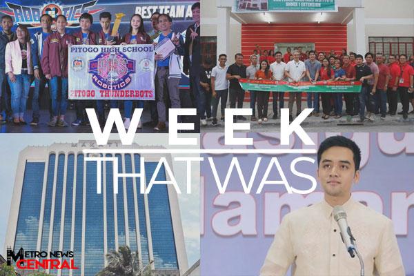 The Week That Was - November 18 - November 24, 2019 Banner