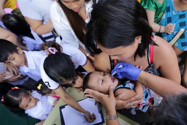 Manila intensifies anti-polio campaign