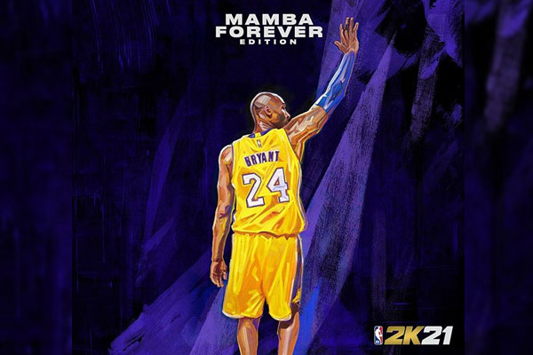 NBA 2K21 Mamba Forever edition cover / Photo Courtesy of NBA 2K/Instagram