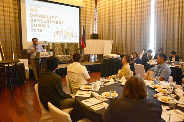 Muntinlupa City Disability Development Summit / Muntinlupa PIO