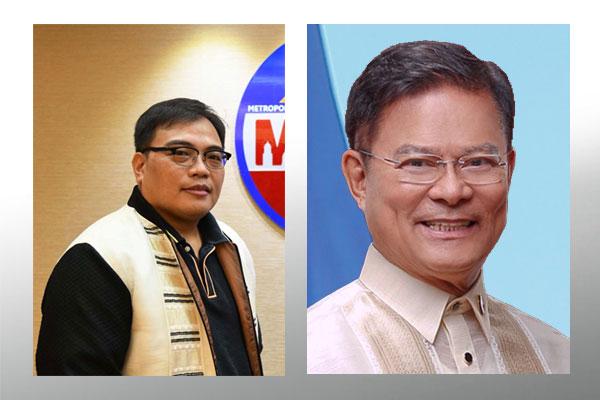 Southern Leyte Lone District Representative Roger Mercado and Attorney Romando