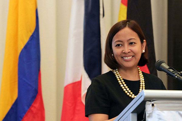 Makati City Mayor Abby Binay