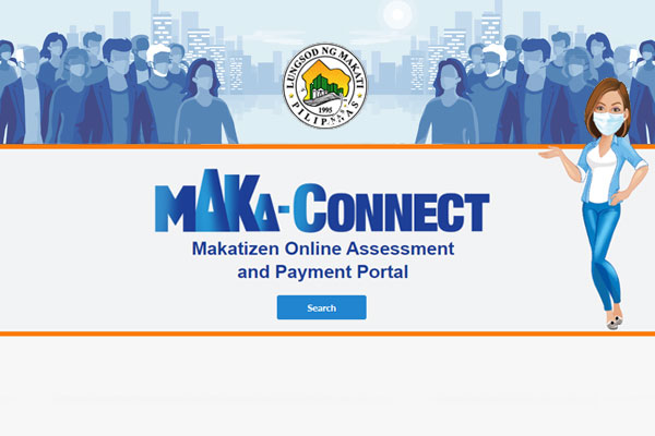 Screen Grab from Makati Online Payment website