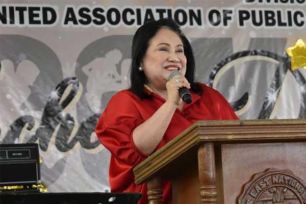 Las Pi%uFFFDas City Mayor Imelda Aguilar