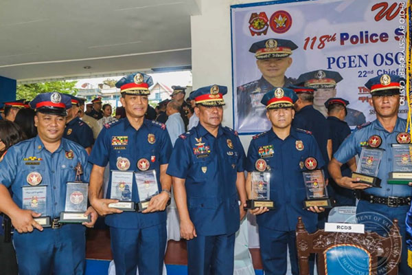 Valenzuela Police Department during the celebration of the 118th Police Service Anniversary / Valenzuela PIO